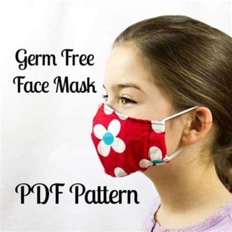 germ  face mask sewing pattern  mammacandoit