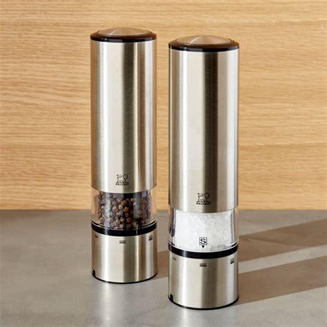 Peugeot Pepper Grinder by Peugeot Elis Electric Salt And Pepper Grinder Crate And