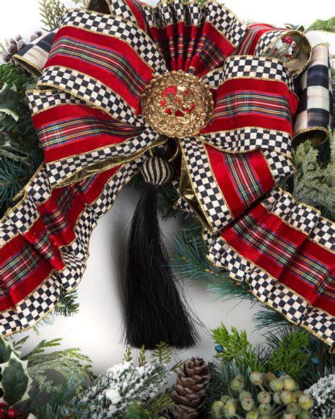 MacKenzie-Childs Highland Large Wreath