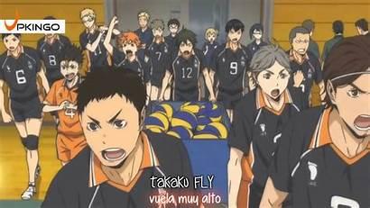 Haikyu Haikyuu Volleyball Season Anime Matches Second