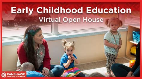 early childhood education virtual open house