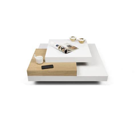 table basse bois et laque blanc table basse laqu 233 blanc et bois id 233 es de d 233 coration int 233 rieure decor