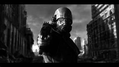 Fallout Ncr Ranger Wallpapers Vegas Riot Control