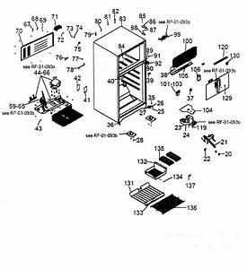 Cabinet Parts Diagram  U0026 Parts List For Model Hte14wabww