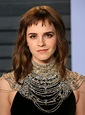 Emma Watson looked great but her tattoo didn't at the VF ...