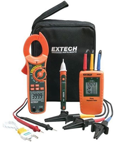 Extech Phase Rotation Clamp Meter Test Kit