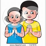 Cartoon Praying Hands With Rosary | 450 x 470 jpeg 38kB