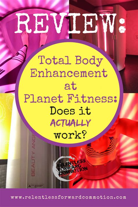 Total Body Enhancement at Planet Fitness - A Review