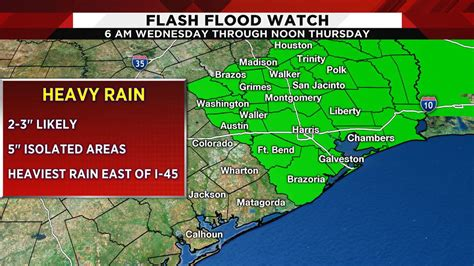Storms caused flooding in houston on may 9, closing down roads and damaging homes. Flash flood watch issued as heavy rain moves through Houston...