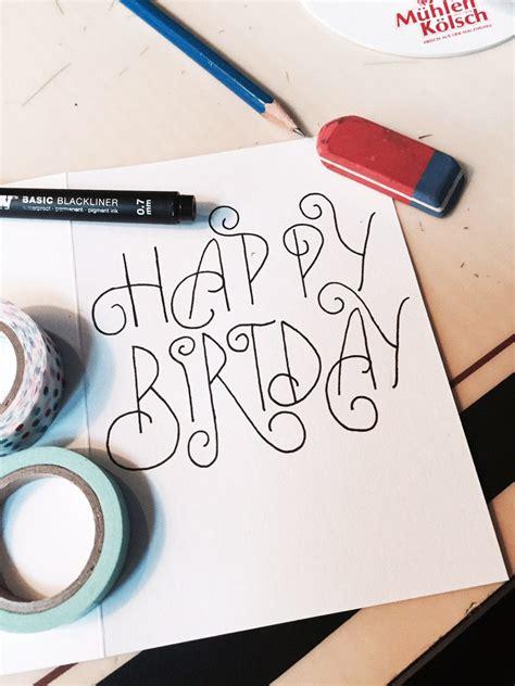 buat kad hari lahir kreatif  sendiri