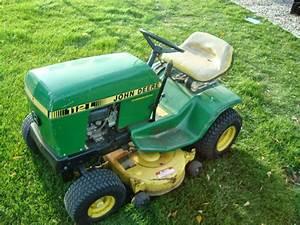 1985 John Deere 112 Lawn  U0026 Garden And Commercial Mowing