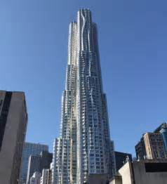 modern in nyc new york by gehry at 8 spruce st in fulton seaport sales rentals floorplans streeteasy