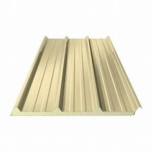 Toiture Bac Acier Prix : bac acier sable panneau sandwich ep 40 mm toiture ~ Premium-room.com Idées de Décoration