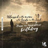Christian Happy Birthday Wishes Man