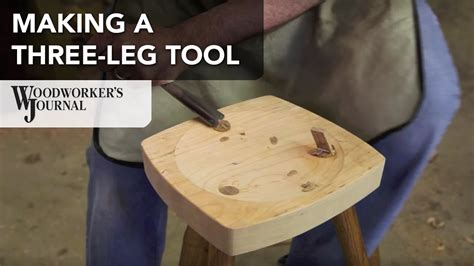 turning   legged stool youtube