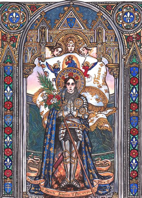 Saint Joan Of Arc By Theophilia On Deviantart