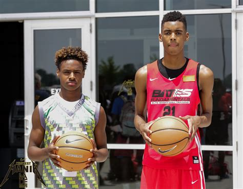 bronny james stands   fitting   talented blue