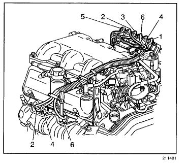 2006 Pontiac Montana Engine Diagram by Where Can I Find A Coil Spark Wire Layout For A 2003