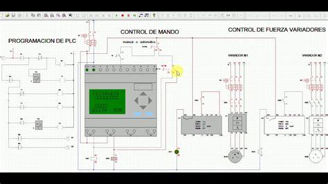 bombas alternadas instalacion y programacion con plc y variadores en cadesimu v2 0