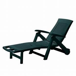 Chaise Jardin Plastique : chaise longue jardin pas cher comparer les prix avec ~ Teatrodelosmanantiales.com Idées de Décoration
