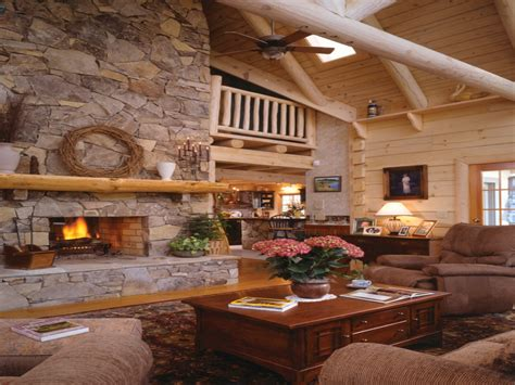 rustic log home fireplaces rustic log cabin decor country
