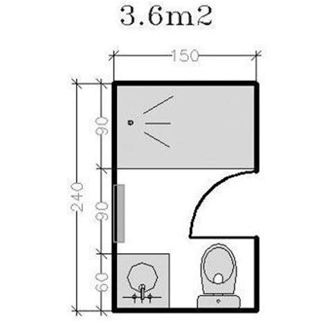 taille minimale chambre plan pour salle d 39 eau et salle de bains de 2 à 5m