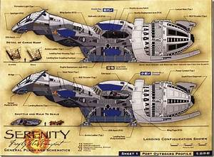 Serenity Firefly Class Transport General Plans And Schematics