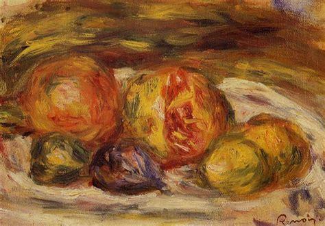 Nature Morte Grenade Figues Et Pommes 1915 De Pierre