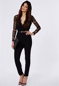How to Wear Black Lace Jumpsuit u2013 careyfashion.com