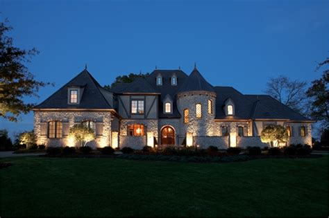 luxury french country chateau    bedrm  sq ft home theplancollection