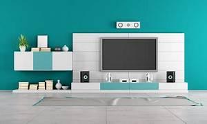 Meuble Tv Home Cinema Intégré : meuble tv home cinema int gr mobilier design ~ Melissatoandfro.com Idées de Décoration