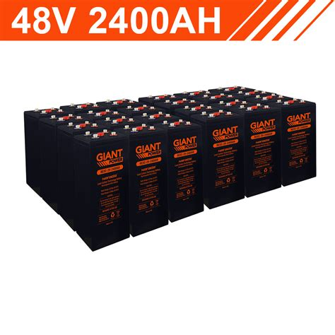 Kwh Lead Carbon Battery Bank Cells