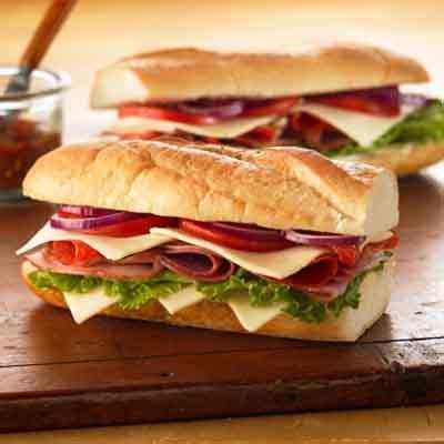 american deli sandwich recipes italian sub recipe land o lakes