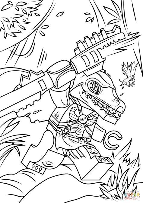 lego chima cragger coloring page  printable coloring