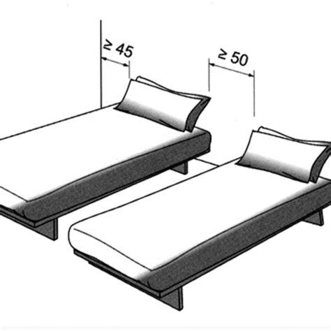 orientation du lit dans une chambre agrandir deux lits jumeaux quuon spare with orientation du
