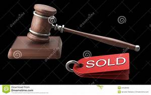 Auction Gavel Isolated On Black Royalty Free Stock Photo ...