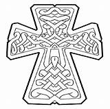 Cross Coloring Pages Cool Crosses Celtic Detailed Designs Printable Tattoo Stitch Draw Symbols Patterns sketch template