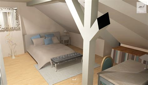 amenagement chambre comble stunning amenagement combles chambre photos contemporary