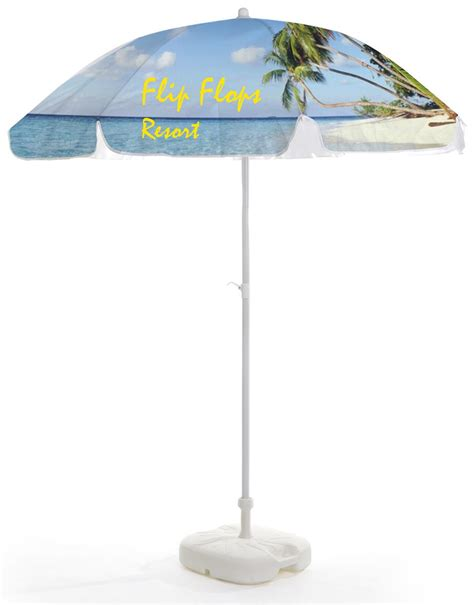commercial patio umbrella dye sub custom printing