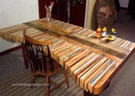 bureau en palette de bois faire un bureau en bois de palette des modèles page 2