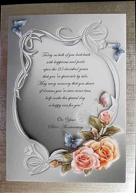 silver wedding anniversary wishes photo  alyssuzi creative cards  suzi cooper