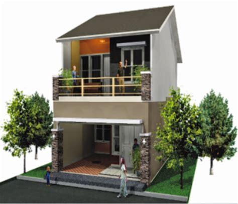 desain rumah minimalis  lantai luas tanah