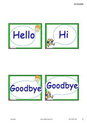 english  kidsesl kids dialogue flashcards
