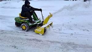 John Deere F510 Snowblower