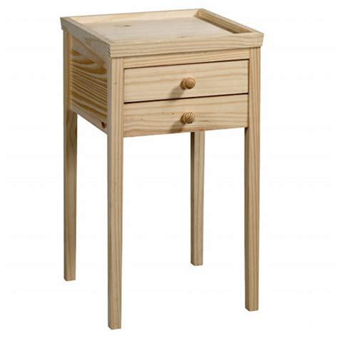 table de chevet a peindre trouver table de chevet bois brut