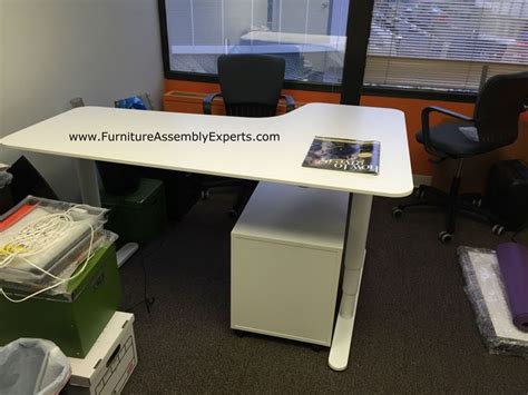 ikea motorized standing desk ikea galant height adjustable desk nazarm com