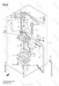 Suzuki Atv 2007 Oem Parts Diagram For Carburetor