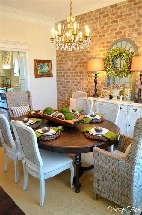 brick wall  dining rooom home decor ideas pinterest