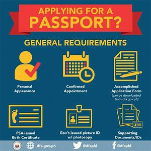 philippine passport application here39s how deped lp39s With requirements for passport new applicant