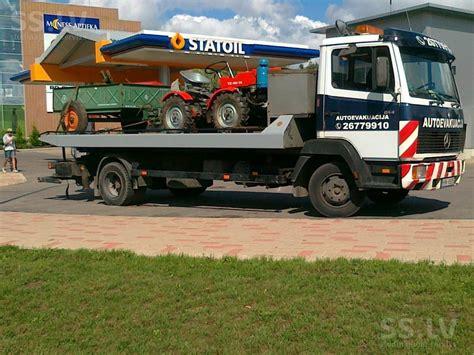 SS.LV Kravas automašīnas - Autovedējs, Cena stundā 25 €. Транспортировка автомобилей ...
